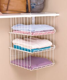 Under Cabinet Storage Baskets Have Worked Wonders In My Closet. I Went From  Two Closets