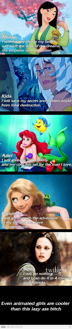 Animated Girls Batter Than Twilight...further proof that twilight is horrible.