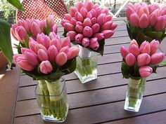 You will definitely win my heart with pink tulips, my all time favorite flower <3 also in yellow