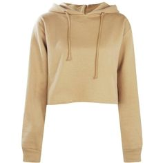 Boohoo Megan Cropped Overhead Hoody | Boohoo (21 AUD) ❤ liked on Polyvore featuring tops, hoodies, cotton hoodie, cotton hoodies, cotton hooded sweatshirt, basic t shirt and ribbed crop top