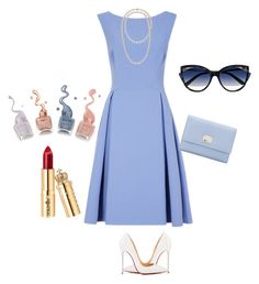 """Untitled #121"" by ladynat on Polyvore featuring Christian Louboutin, La Perla and Dolce&Gabbana"