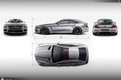 What would an #SL look like Shooting Brake-style? 6 design students present their idea at the Mercedes-Benz Advanced Design Studio in Como, Italy. What is your take on this? [Photo via Mercedes-Benz Switzerland].