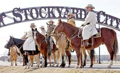 Stockyard City, Oklahoma City.... This is where Matt and I shop! Best Cowboy boots!!!