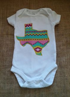 16d6b1b76a Texas onesie by makennaleeboutique on Etsy