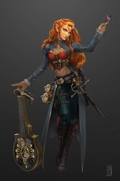 Lady Azalee Galanodel by Noxiihunter