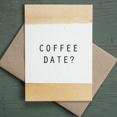 COFFEE DATE / Little City Love