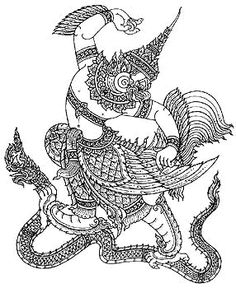 garuda slaying the naga
