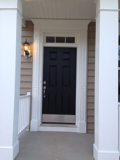 Our front door!  The inside and almost all of the outside is complete!!