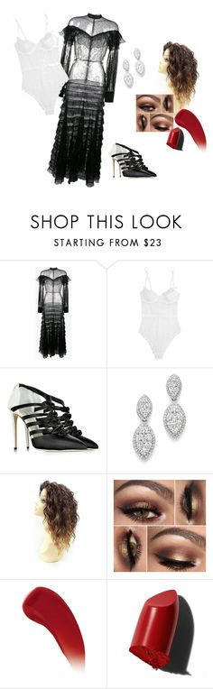 """""""trend mixing"""" by sharda-panwar on Polyvore featuring Alessandra Rich, L'Agent By Agent Provocateur, Olgana, Bloomingdale's, Lipstick Queen and Bobbi Brown Cosmetics"""
