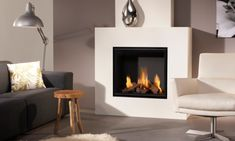 DRU Global gas fires offer all the benefits of a quality DRU fires, but at a prices that are affordable for the average household. Glass Fronted Gas Fire, Living Room Designs, Living Spaces, Traditional Fireplace, Stove Fireplace, Wood Burner, Gas Fires, Bespoke Design, Dom