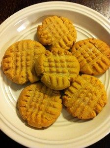 Peanut Butter Cookies Made With Cake Mix