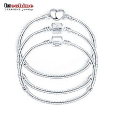 Silver Fasfion Chain Bangle Bracelet