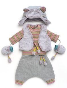 Ensemble des petits habits de la marque Moulin Roty, Collection Les Pachats Hiver 2014   --> http://www.bonbon-conceptstore.com/collections/nouveautes-1/products/ensemble-garcons-1