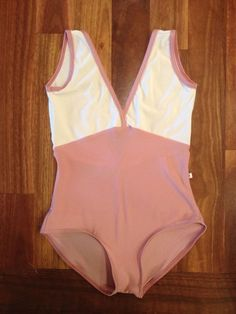 Yumiko Alicia Leotard with no sleeves in n antique and n antique rose