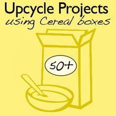 50+ Things to Make From Cereal Boxes .... download PDF. Does not work with Safari browser though.