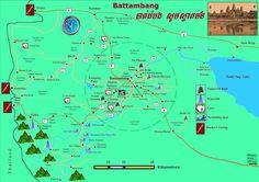 battambang cambodia images | Battambang Map. Maps of Battambang. Cambodia Map