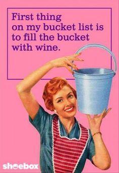 Yes....wine!!
