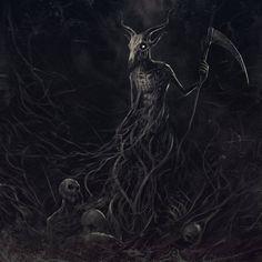 Cover artwork for Azaghal (Official) Nemesis — con Tomi Kalliola y Kai Karpinmaa. Baphomet, Arte Heavy Metal, Dark Fantasy, Fantasy Art, Horror, Band Photography, Extreme Metal, Gothic Metal, Macabre Art