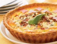 Cocina – Recetas y Consejos New Cooking, Easy Cooking, Cooking Time, Quiches, Quiche Recipes, Brunch Recipes, Savory Tart, Quiche Lorraine, Breakfast Tea