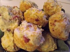Easy Lunchbox Ham & Cheese Biscuits