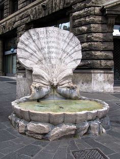 """Fontana delle Api"" (Fountain of the Bees), sculpted by Gian Lorenzo Bernini in 1644 Piazza Barberini, Rome, province of Rome lazion region Italy"