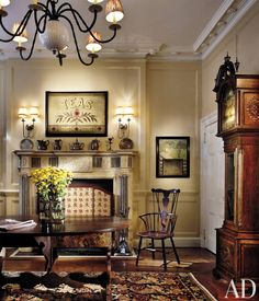 Traditional Entrance Hall by Stephen Shadley Designs in New York, New York