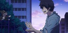 Anime Blue Cat | gif cat anime friends Ao no exorcist Demon neko anime boy blue ...