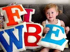 Alphabet Soup | Decorative Throw Pillows for Kids | Everywhere - DailyCandy