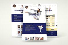 Mobile responsive website design for Kyu Shin Ryu #web #design #mobile #creative #agency