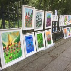 Another day in paradise on the railings @merrionsquareart . The weather forecast looks ok so why not drop by and enjoy the weather the art and the park  #merrionsquareart #dublin #dublinparks #irishartgallery #irishart #buyirish #buyirishart Another Day In Paradise, Rion, Square Art, Irish Art, Weather Forecast, Railings, Dublin, Contemporary Art