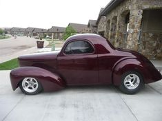 1941 Willys Coupe in Windsor Colorado #hotrodclassiccars