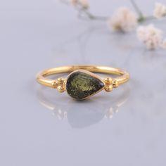 Handmade Rings, Earrings Handmade, Raw Gemstone Ring, Druzy Ring, Meteorite Ring, Sterling Silver Rings, Raw Gemstones, Czech Republic, Beautiful Rings