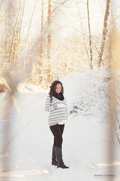 Winter Sunset Maternity Session-Edmonton Maternity Photographer » Michelle Jackson Photography: Edmonton newborn, maternity and family photo...