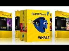 Whale for Rosetta Stone.