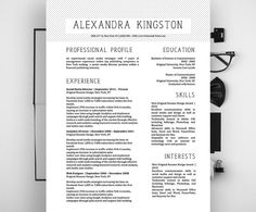 Alexandra Pineapple Resume Template  Alexandra Kingston Resume