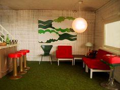 1970s Furniture Design 1970s homes … in miniature