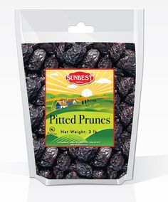 SUNBEST Pitted Prunes 3 Lbs in Resealable Bag *** Check this awesome product by going to the link at the image.