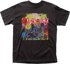a7199e8fe44 The Zombies T-shirt - The Zombies Odessey and Oracle Album Cover Artwork