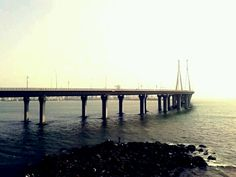 Bandra- Worli sea link ,Mumbai, India