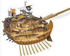 Korean Turtle ship 1592-1598