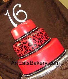 Artistic custom creative fondant birthday cake picture gallery 2