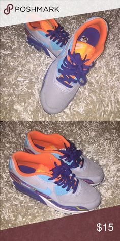 Shop Women's Nike size 9 Athletic Shoes at a discounted price at Poshmark.  Colorful ...
