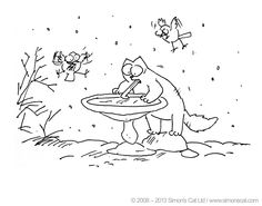 simon cat free coloring pages - photo#16