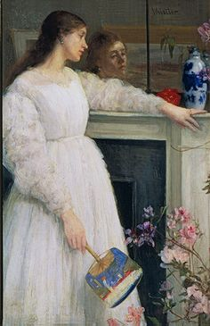 The Little White Girl: Symphony in White, No.2 by James McNeill Whistler, 1864
