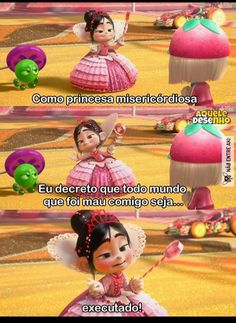 adoru a vanellope Disney Memes, Disney Films, Disney And Dreamworks, Disney Pixar, Otaku Meme, Vanellope, Wreck It Ralph, Princesas Disney, Disney Love