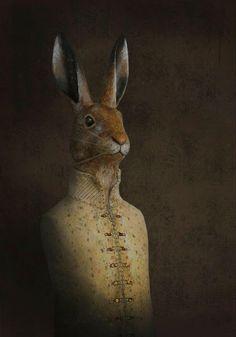 Artist in LA LA Land Illustration & Design: Weekly Vintage Inspiration: Vintage Inspired, Animal Papier Mache Sculptures by Melanie Bourlon