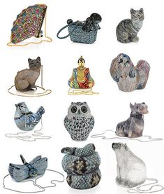 Judith Leiber Cats, Dogs and animal Minaudières