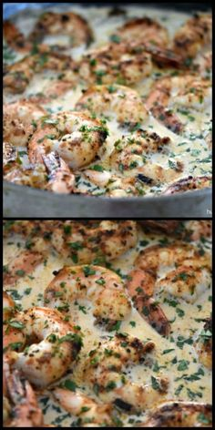 Shrimp in Parmesan Cream Sauce Chipotle Shrimp in Parmesan Cream SauceGhost shrimp Ghost shrimp is a name applied to at least three different kinds of crustacean: Shrimp Recipes For Dinner, Shrimp Recipes Easy, Seafood Dinner, Salmon Recipes, Seafood Recipes, Gourmet Recipes, Cooking Recipes, Healthy Recipes, Cooking Tips