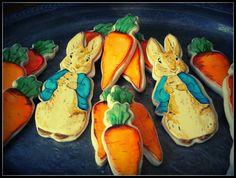 Peter Rabbit Cookies by BeeSweetConfections, via Flickr