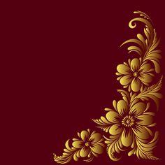 Ornate floral decorative border corner 04 Poster Background Design, Banner Background Images, Flower Background Wallpaper, Flower Backgrounds, Text Background, Paper Background, Birthday Banner Background, Wedding Invitation Background, Wedding Invitations